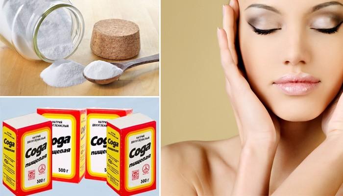 Содово-солевой скраб для кожи лица