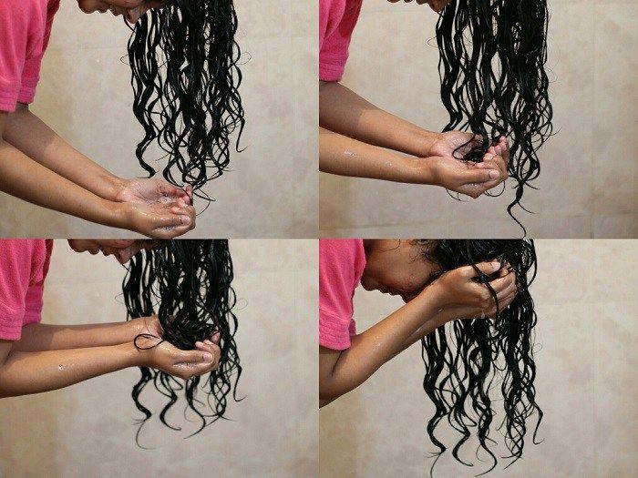 Как правильно нужно мыть Кудрявые волосы