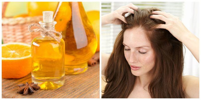 Лечение выпадения волос Апельсиновые корки