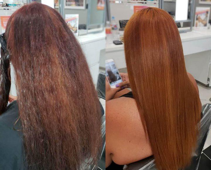 Экранирование - процедура для блеска гладкости волос
