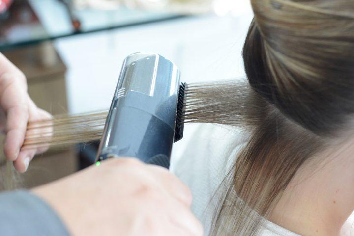 Полировка волос - процедура для посеченных волос