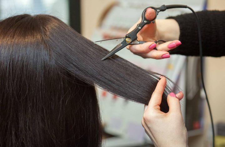 Стрижка горячими ножницами - помощь для сухих и ломких волос