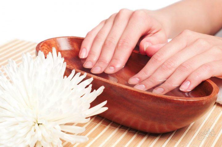 Народные рецепты Ванночки леченияломкости ногтей