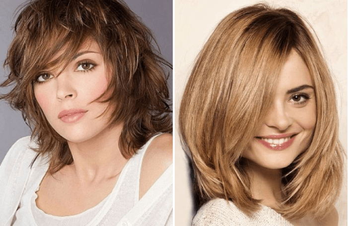 Прически на волосы: стрижки волос, которые позволят вашему лицу выглядеть стройнее (100 фото)