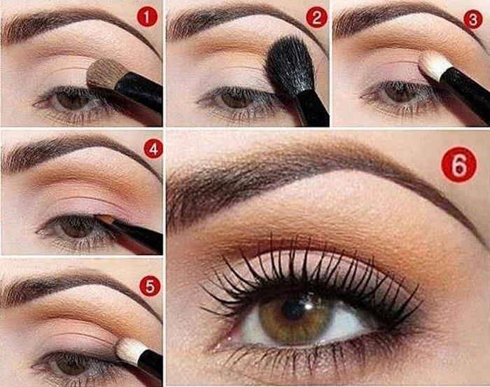 Дневной макияж - Как правильно красить глаза