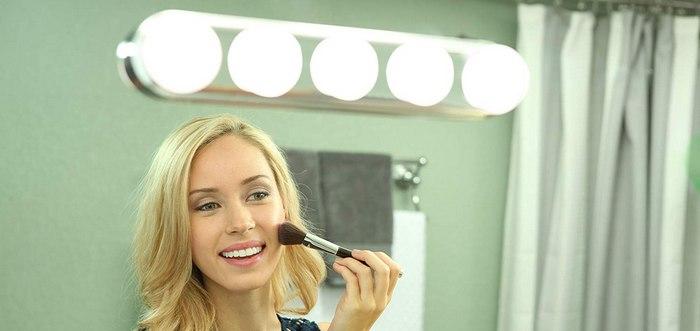 Дневной макияж - освещение