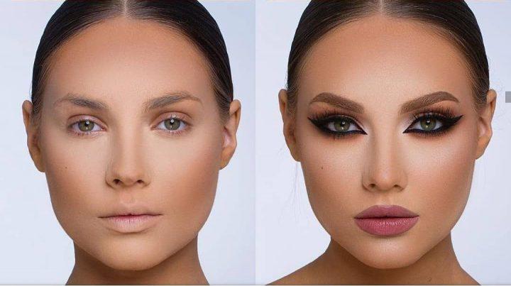 Как правильно нанести вечерний макияж, используя румяна