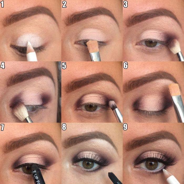 макияж лица - макияж на глаза
