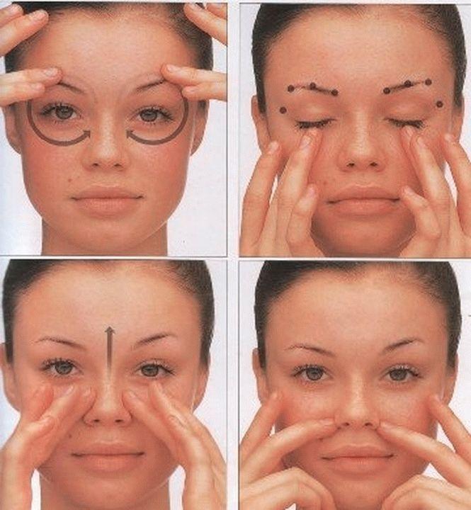 Перед массажем кожу необходимо полностью очистить от макияжа и загрязнений.