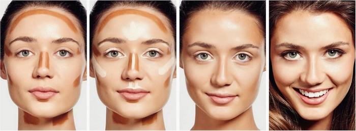 Нанесение тональной основы дневной макияж