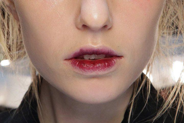 Smoky lips
