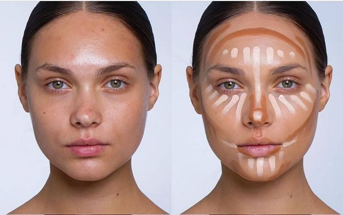 вечерний макияж - Наносим основу и тональные стредства