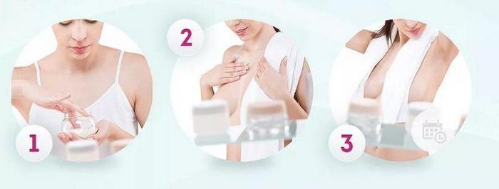 Уход за кожей влияет на упругость и размер груди